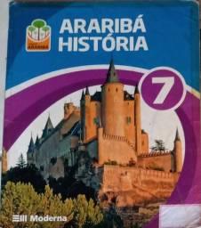 Livro de história Moderna Araribá