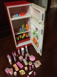 Barbie Geladeira Brisa E Freezer - Marca Elka
