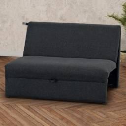 Sofá cama Malu, entrega e montagem grátis