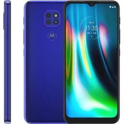 Motorola Moto G9 Play Azul 64gb Lacrado Nota Fiscal