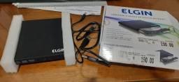 Gravador e leitor DVD/CD externo