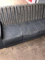 Sofá de canto com chaise combino entrega