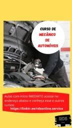 Curso de Mecânico de Automóveis - 100% Online
