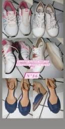 V/T sapatos.novos e semi-novos!DESAPEGO