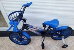 Bicicleta infantil aro 16 # capitão América