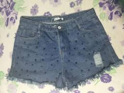 Vendo esse Short jeans Feminino GG