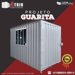 Container 3 Metros - Guarita Personalizada