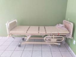 Cama hospitalar fowler (dorso e pernas)elevação manual