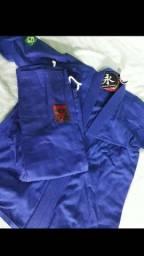 Kimono Azul Trançado tamanho M4
