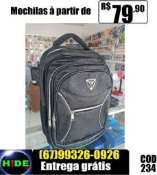 Mochilas Feminina Courino (entrega sem taxa)