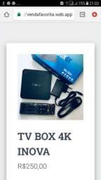 TV BOX 4K INOVA