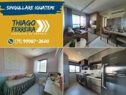 Singullare Iguatemi, 2 quartos em 52m² no Parque Bela Vista