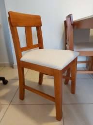 4 cadeiras Tok Stok, seminovas, bem conservadas