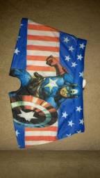 Vendo cuecas box infantil masculino(Capitão América),e calcinhas infantil personagens.