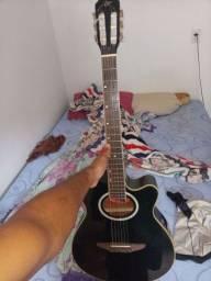 Vendo esse violão Tagima eletrônico. de nalho todo filé