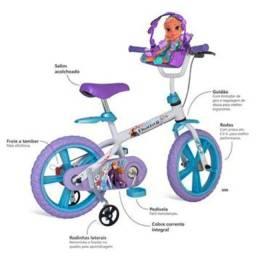 Bicicleta 14 Frozen Disney Bandeirante