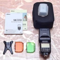 Flash Nikon SB 910 (novíssimo)