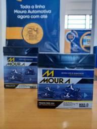 Super promoção Bateria Moto MOURA