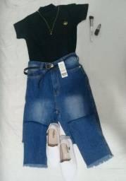 Mom jeans linda e nova - 38