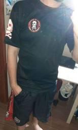 Camiseta e bermuda TOF tam G