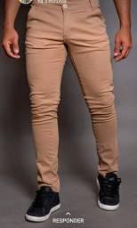 Camisa social, camisa long line e calça Sport fino