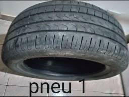 2 pneus Pirelli 215/50 aro 17 seminovos e vulcanizados