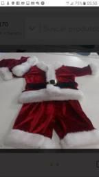 Roupa de Natal infantil