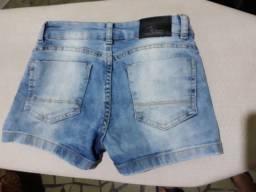 Shors jeans menina