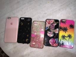 Kit capinhas iPhone 6 Plus