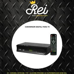 Conversor digital de sinal HD isdbt não fique sem assistir seus programas e novelas