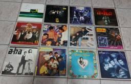 VINIL- LOTE C/12 LP'S/ a-ha/NEW KIDS/MENUDO/Gipsy Kings/Espírito Cigano
