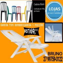 Cadeira espreguiçadeira 5 posições _ grande oferta
