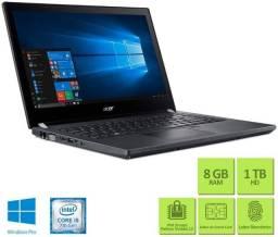 Título do anúncio: Notebook Acer - Intel Core i5-7200U - RAM 8GB - HD 1TB - Windows 10 com leitor de digital