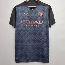 Camisa Manchester City Away 2021 tam G