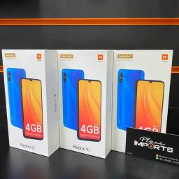 Redmi 9i 4gb de ram 64gb de memória, loja física, entregamos