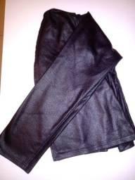 Brazer preto tecido napa