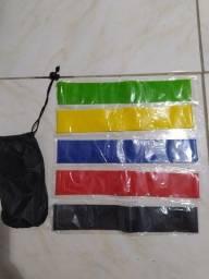 Kit miniband para exercício físico