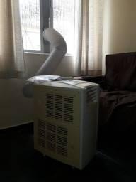 Veja o Vídeo! Ar Condicionado Portátil Elgin Mobile 9.000 BTU/h Quente e Frio - 127 V