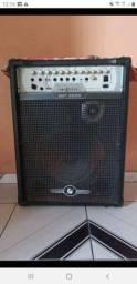 Caixa de som amplificada de 2000 rms