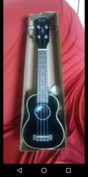 Soprano acústico ukulele novo na caixa últimas unidade ukulele