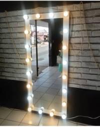 Vendo espelho camarim com 20 vinte lâmpadas Led!!!