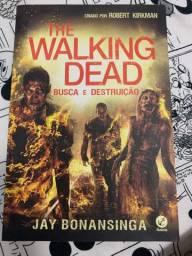2 livros da saga The Walking Dead