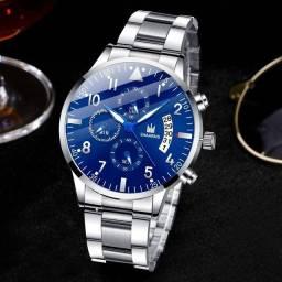 Relógio Shaarms  De Aço Inoxidável