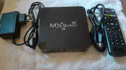 Box MXq pro 5g 4k novo