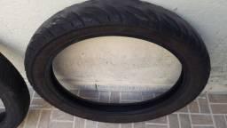 Vendo pneus dianteiro e traseira para moto 150
