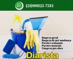Diarista Para Limpeza Residencial  - Promoção