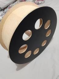 Carretilha de madeira pipa