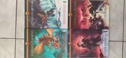 Saga os heróis do Olimpo - Rick riordan