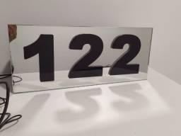 numero residencial personalizado