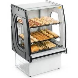 Balcão estufa para padaria e lanchonete - JM equipamentos